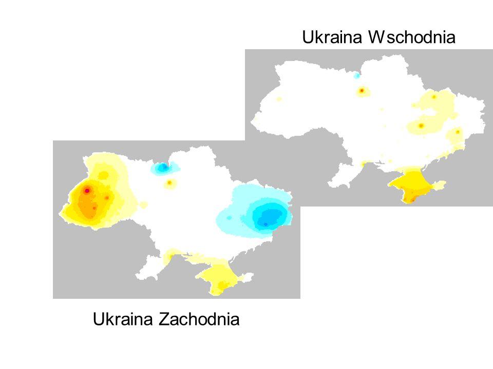 Ukraina Zachodnia Ukraina Wschodnia