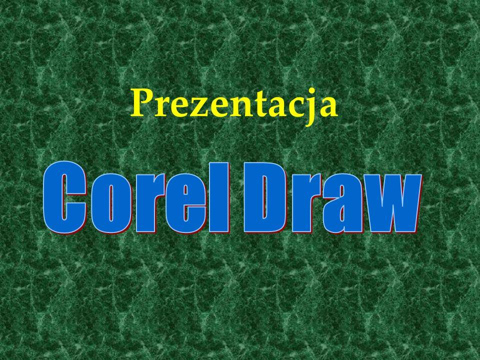 Trochę info o programie Program CorelDRAW jest przeznaczony do tworzenia grafiki wektorowej.