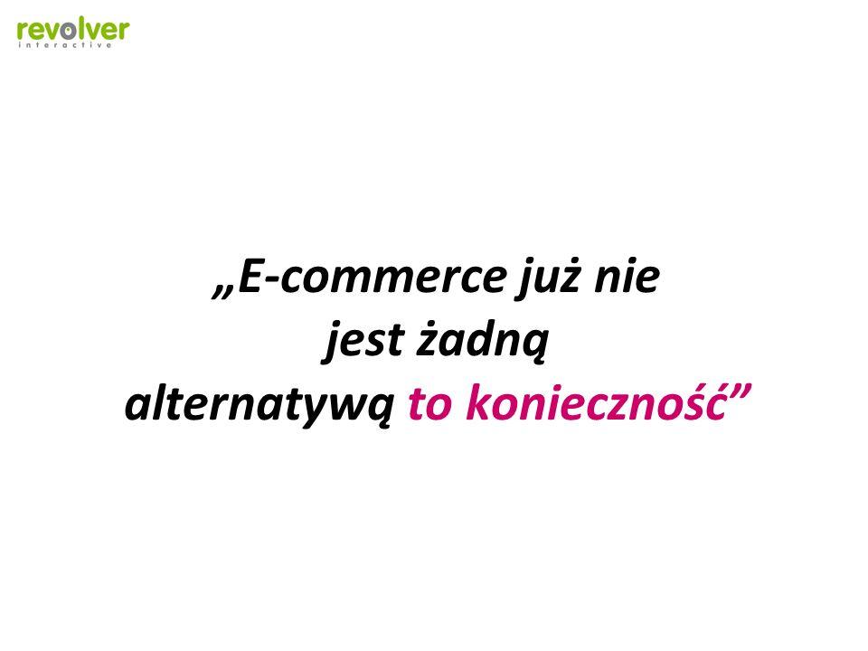 E-commerce już nie jest żadną alternatywą to konieczność