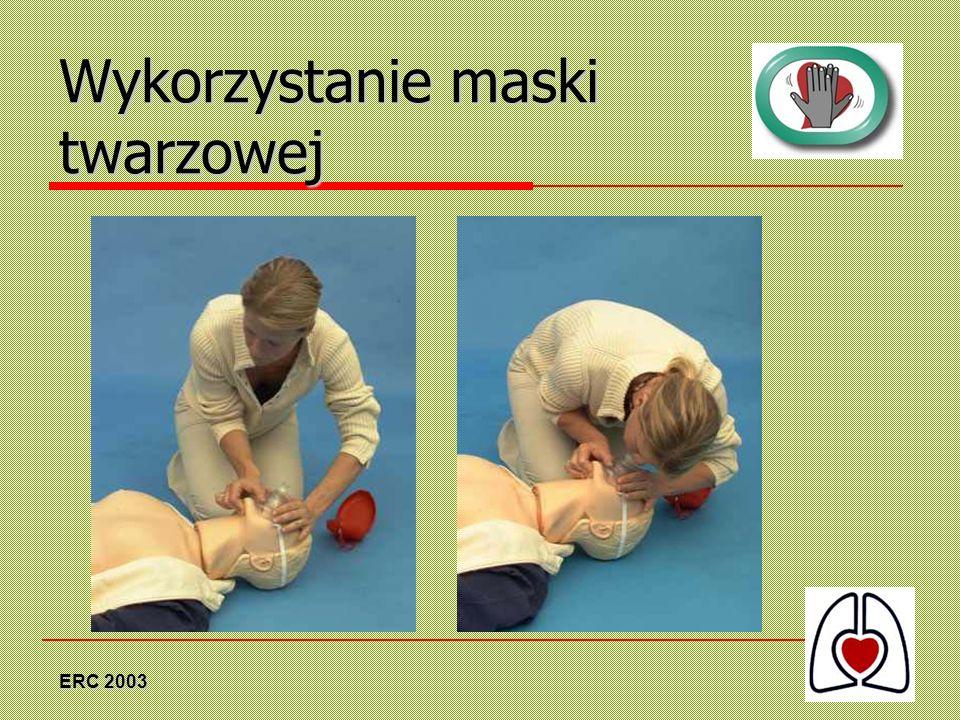 ERC 2003 Wykorzystanie maski twarzowej