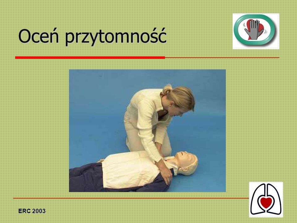 ERC 2003 Rozpocznij uciskanie klatki piersiowej