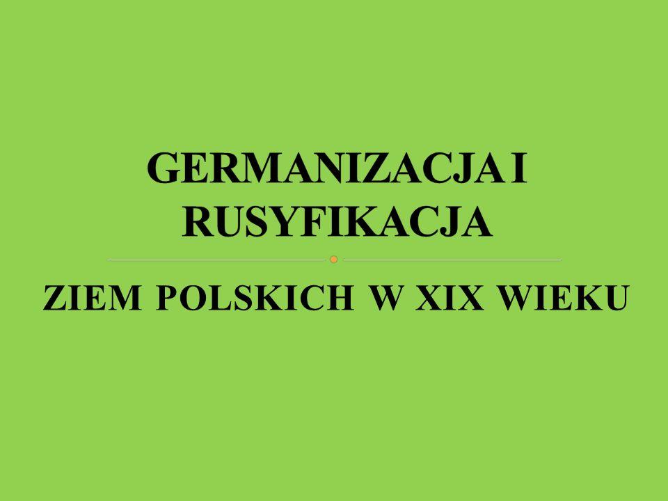 ZIEM POLSKICH W XIX WIEKU