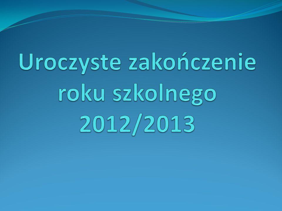 Uczennica z najwyższą średnią w szkole Karina Dorobisz klasa IIIa Średnia ocen 5,5 wzorowe zachowanie Laureatka X Powiatowego Konkursu z Języka Polskiego 2012/2013 II miejsce w IV Międzypowiatowym Konkursie Realioznawczym z Języka Angielskiego