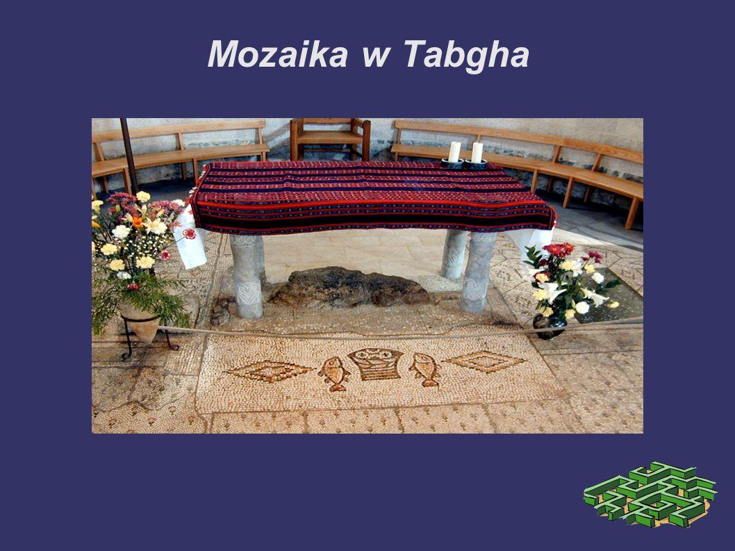Mozaika w Tabgha