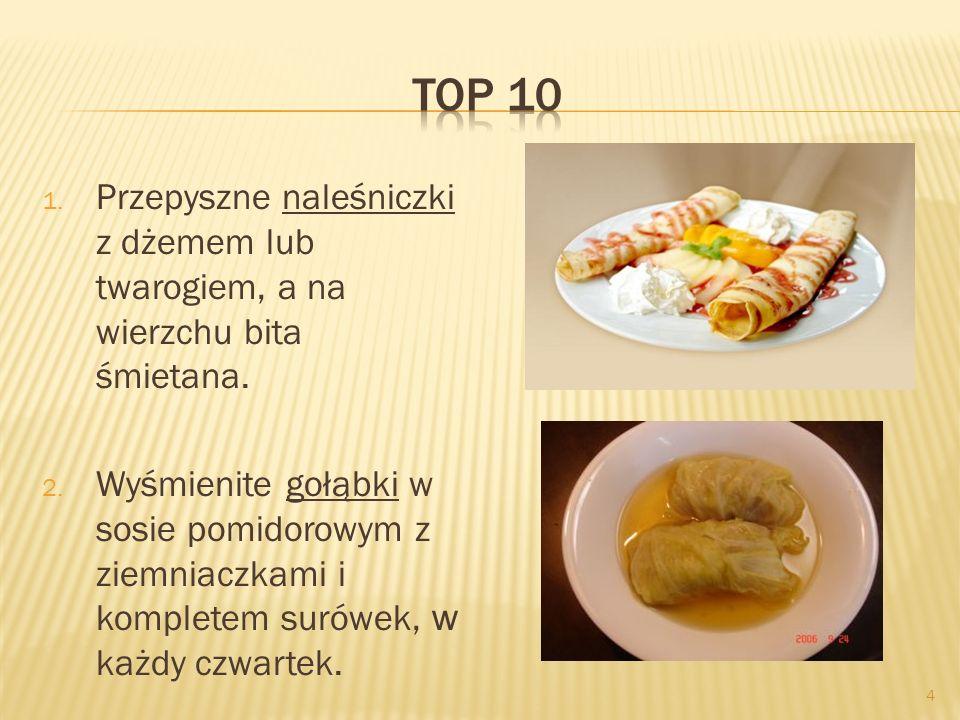 5 3.Barszcz czerwony gotowany według staropolskiej receptury.