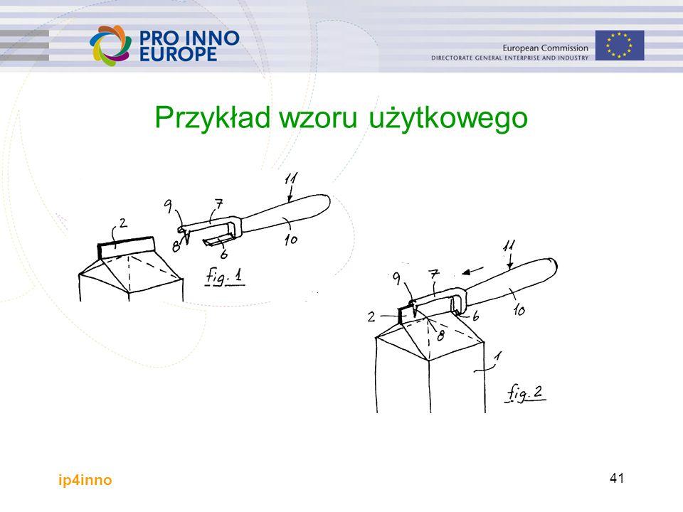 ip4inno 41 Przykład wzoru użytkowego