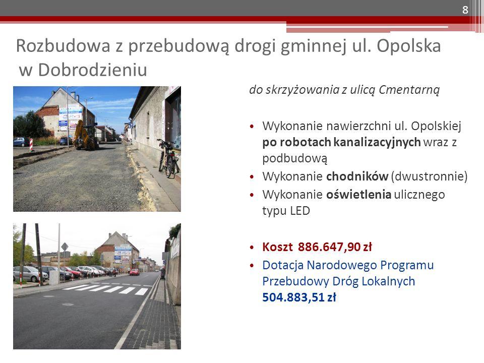 Ulica Warłowska w Makowczycach Dokumentacja projektowa ulicy Warłowskiej w Makowczycach Koszt dokumentacji wynosi 23.985,00 zł 9