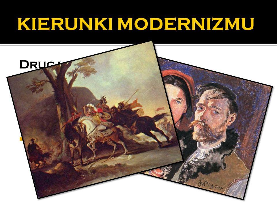 Druga po ł owa XIX w.  impresjonizm  neoimpresjonizm  postimpresjonizm  symbolizm  nabizm
