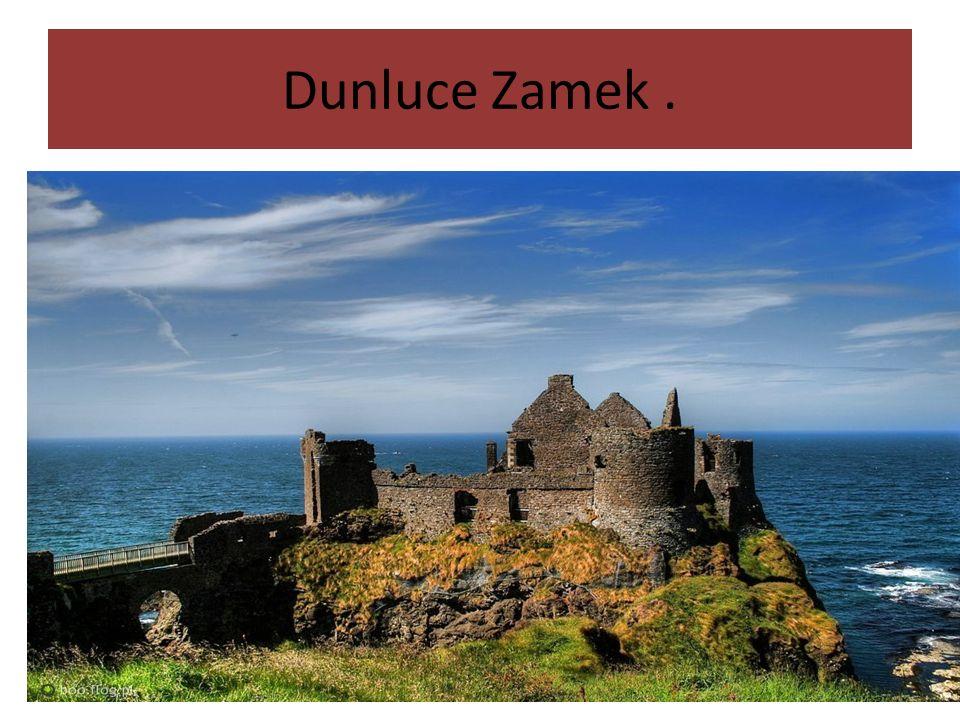 Dunluce Zamek.