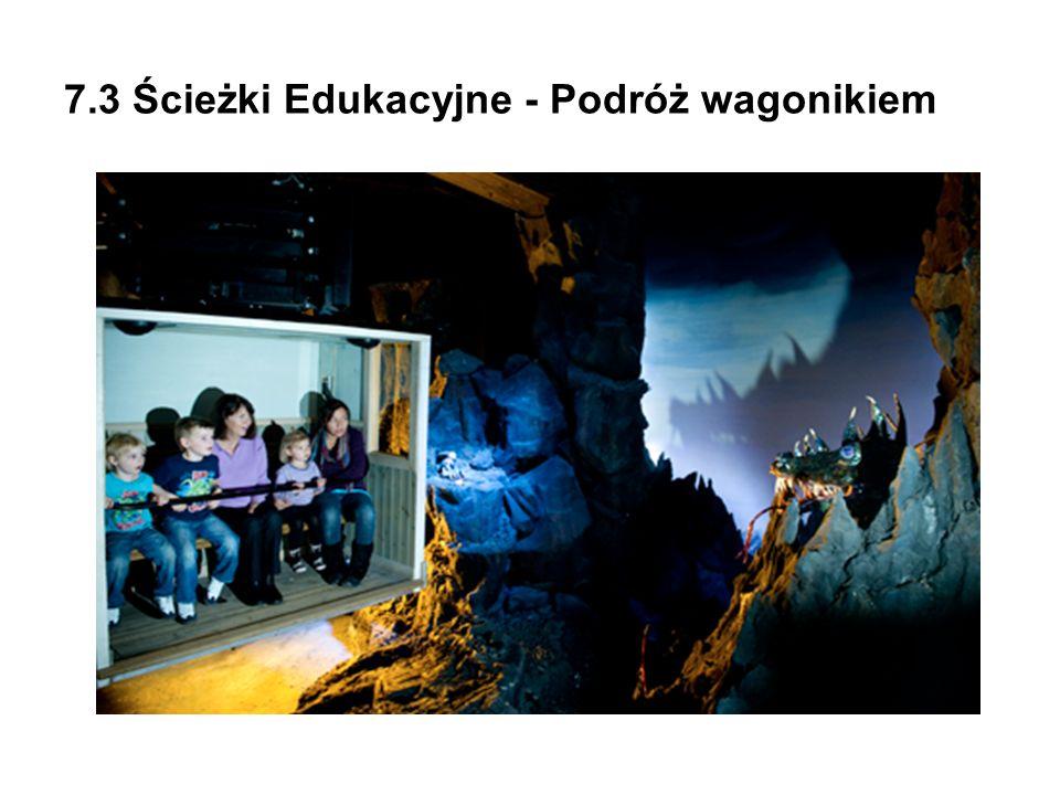 7.3 Ścieżki Edukacyjne - Podróż wagonikiem