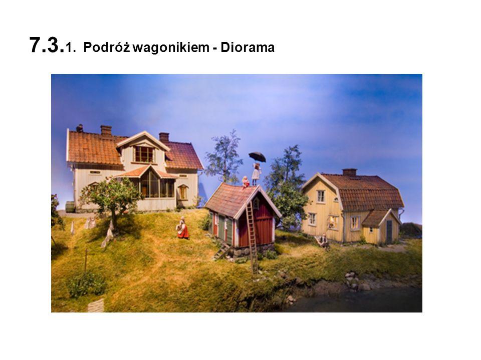 7.3. 1. Podróż wagonikiem - Diorama