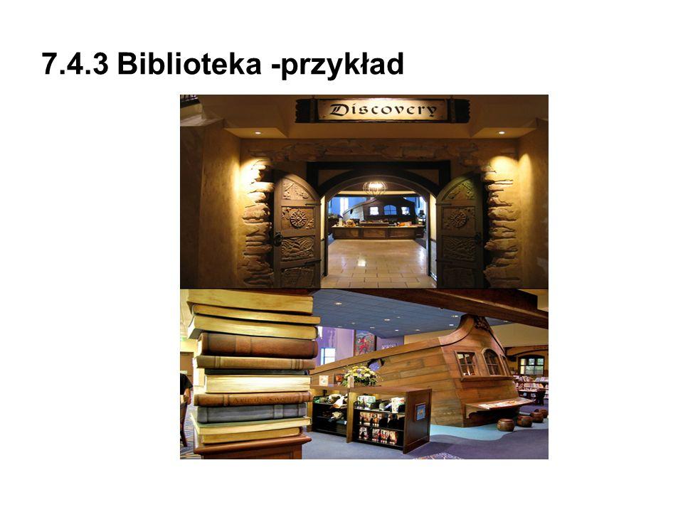 7.4.3 Biblioteka -przykład
