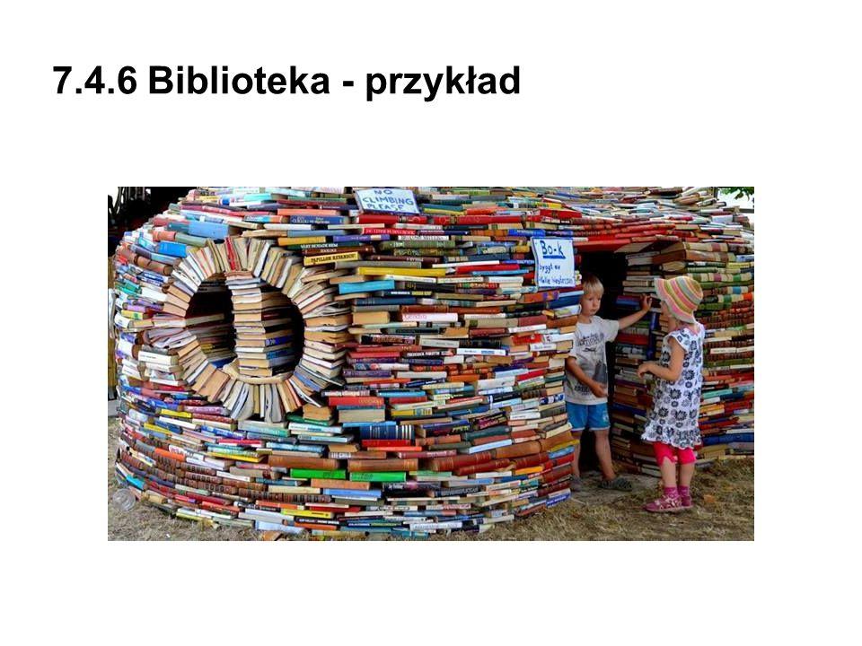 7.4.6 Biblioteka - przykład