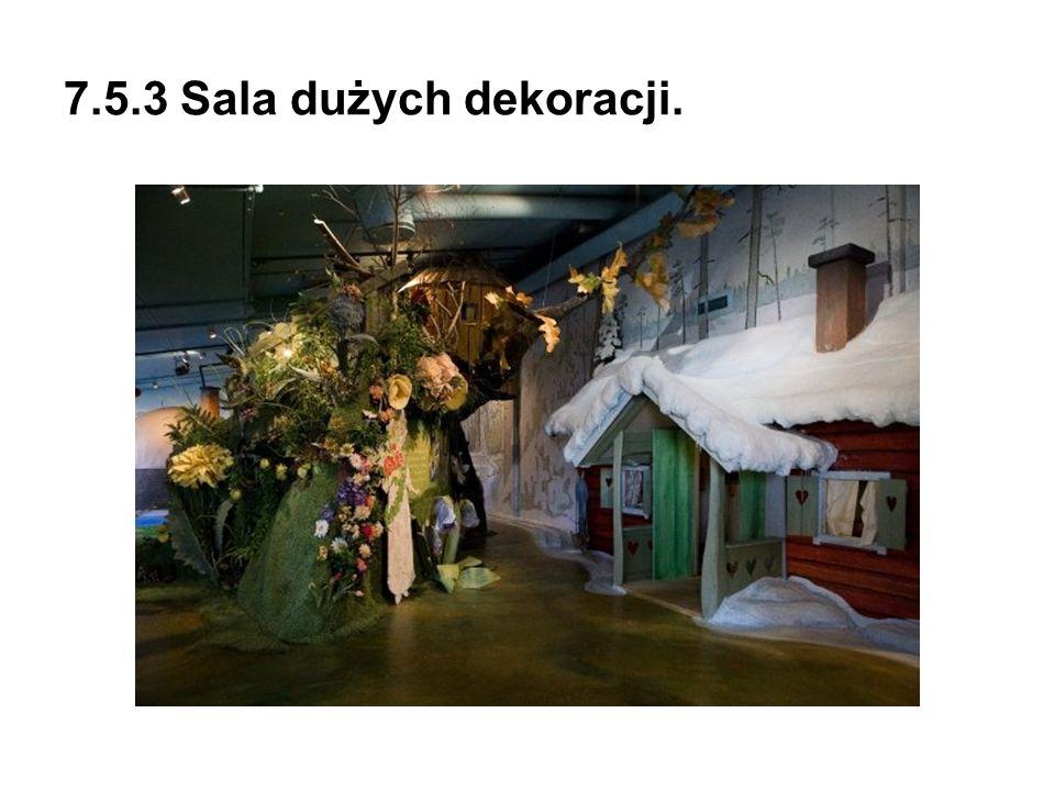 7.5.3 Sala dużych dekoracji.