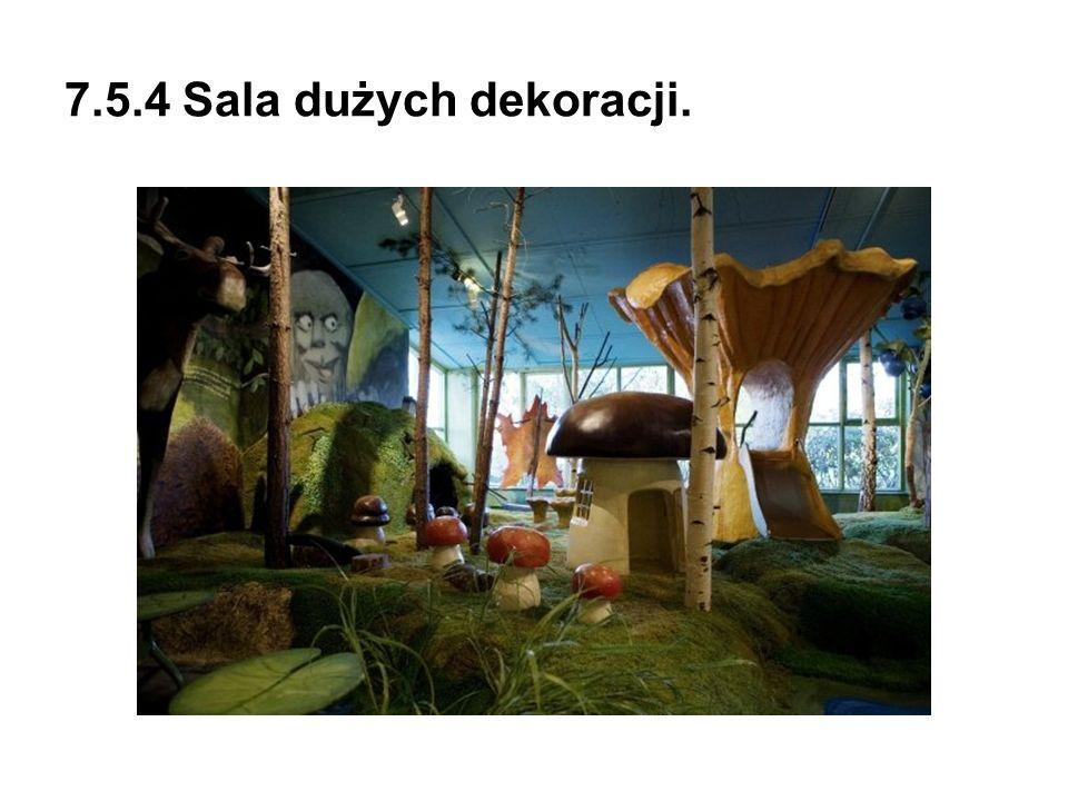 7.5.4 Sala dużych dekoracji.