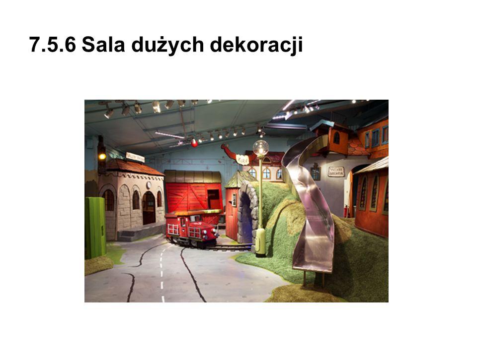 7.5.6 Sala dużych dekoracji