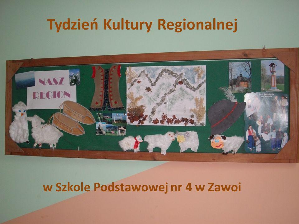 Tydzień Kultury Regionalnej w Szkole Podstawowej nr 4 w Zawoi