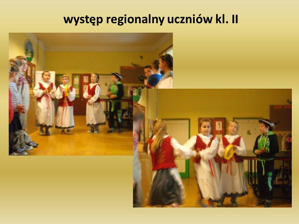 występ regionalny uczniów kl. II
