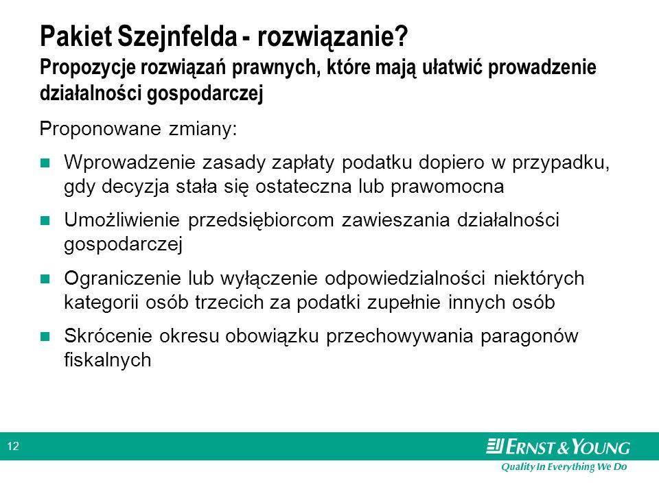 12 Pakiet Szejnfelda - rozwiązanie.