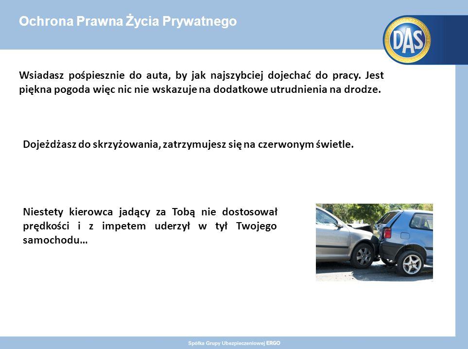 Ochrona Prawna Życia Prywatnego Wsiadasz pośpiesznie do auta, by jak najszybciej dojechać do pracy.