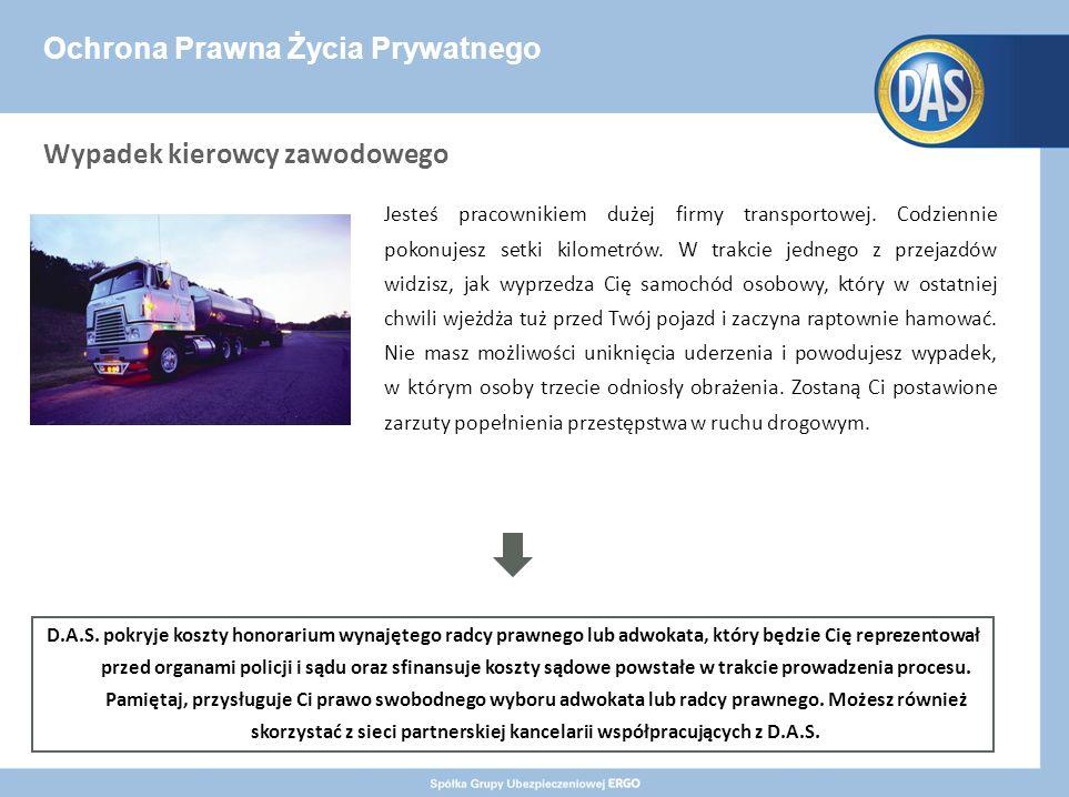 Ochrona Prawna Życia Prywatnego Jesteś pracownikiem dużej firmy transportowej.