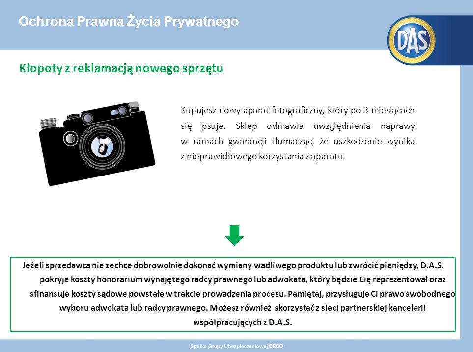Ochrona Prawna Życia Prywatnego Kupujesz nowy aparat fotograficzny, który po 3 miesiącach się psuje.