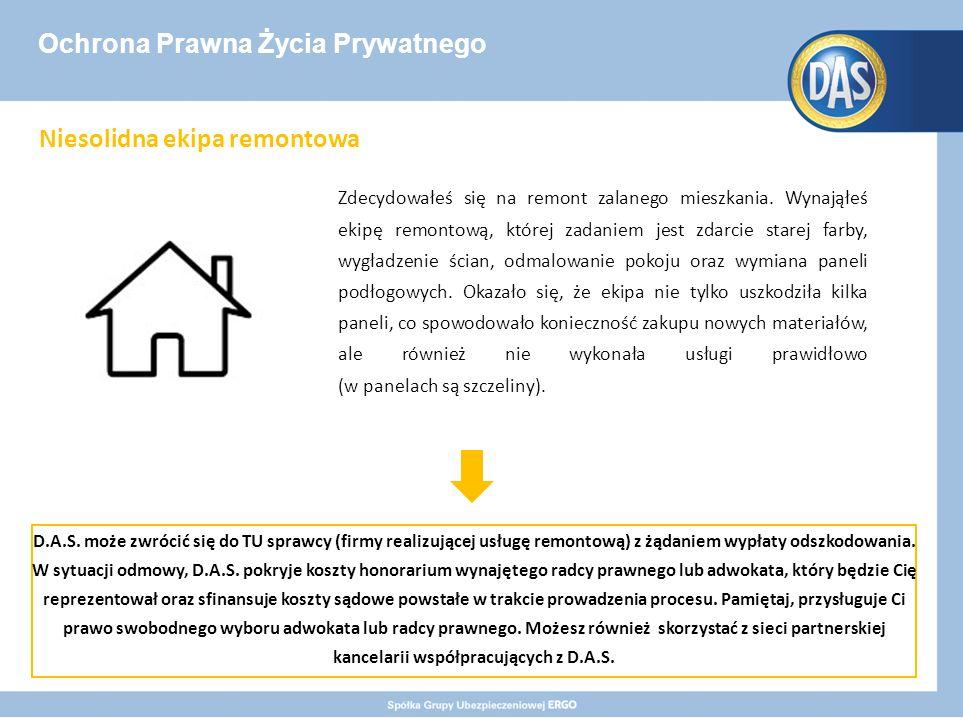 Ochrona Prawna Życia Prywatnego Zdecydowałeś się na remont zalanego mieszkania.