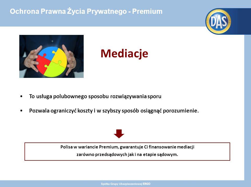 Ochrona Prawna Życia Prywatnego - Premium Mediacje To usługa polubownego sposobu rozwiązywania sporu Pozwala ograniczyć koszty i w szybszy sposób osiągnąć porozumienie.