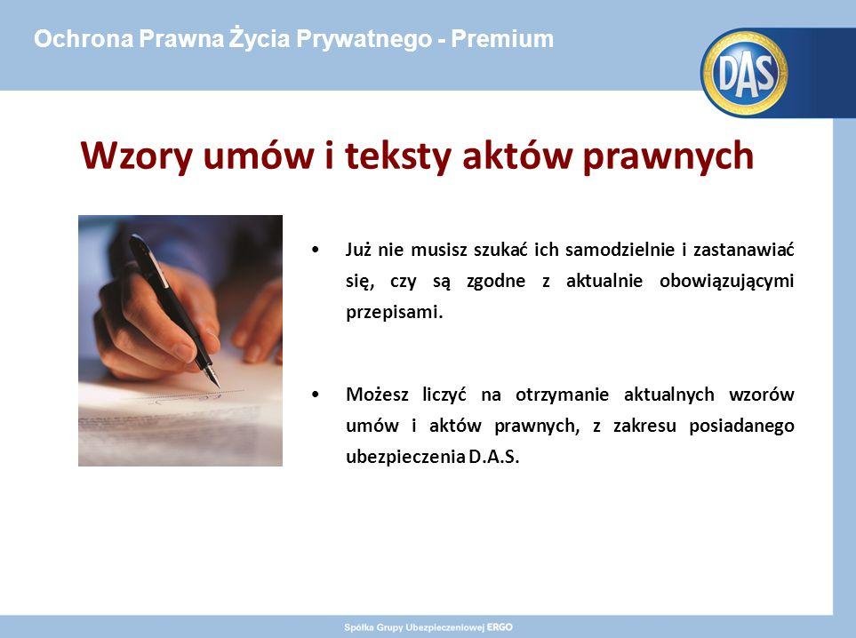 Ochrona Prawna Życia Prywatnego - Premium Wzory umów i teksty aktów prawnych Już nie musisz szukać ich samodzielnie i zastanawiać się, czy są zgodne z aktualnie obowiązującymi przepisami.