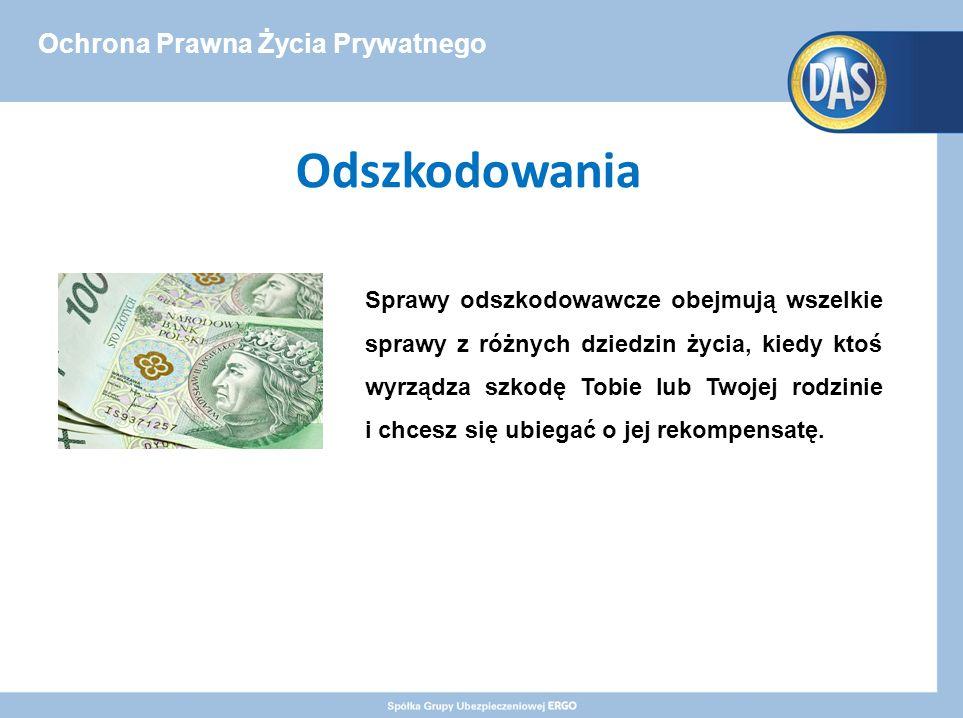 Ochrona Prawna Życia Prywatnego - Premium Wycena wartości szkody przez rzeczoznawcę majątkowego na etapie przedsądowym Polisa w wariancie Premium, gwarantuje Ci sfinansowanie kosztów wyceny wartości szkody, wykonanej przez rzeczoznawcę majątkowego