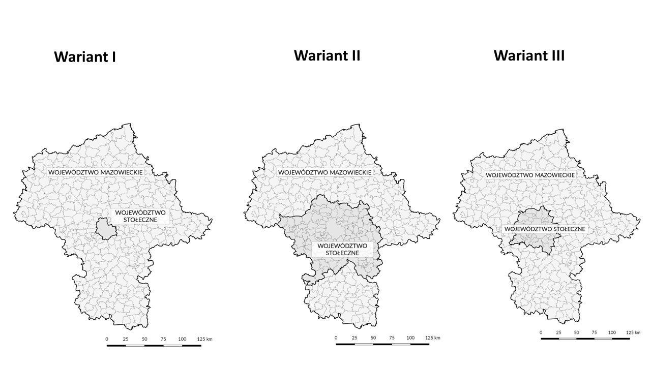 Wariant I Wariant IIWariant III