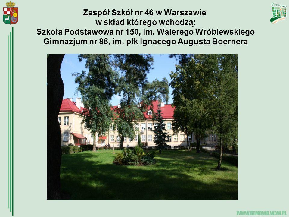 Zespół Szkół nr 46 w Warszawie w skład którego wchodzą: Szkoła Podstawowa nr 150, im.