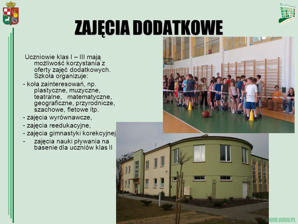 OPIEKA PSYCHOLOGICZNA Uczniowie szkoły znajdują się pod opieką Poradni Psychologiczno – Pedagogicznej nr 20 przy ul.