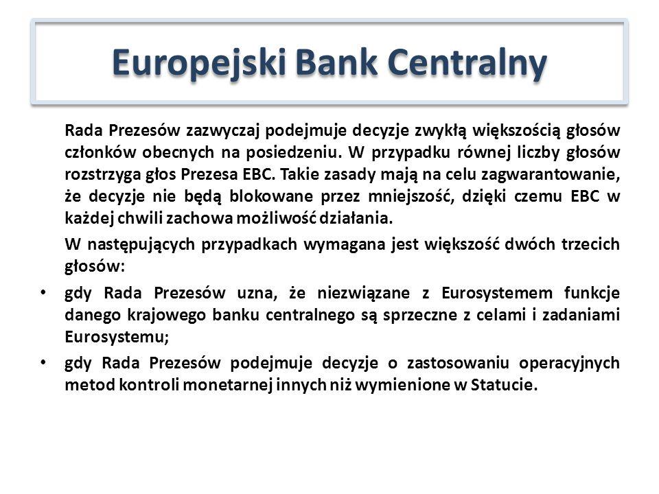 DZIĘKUJĘ ZA UWAGĘ Europejski Bank Centralny