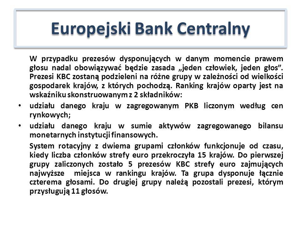 Komitety Eurosystemu i ESBC, gromadzące ekspertów i ułatwiające proces podejmowania decyzji: Komitet ds.
