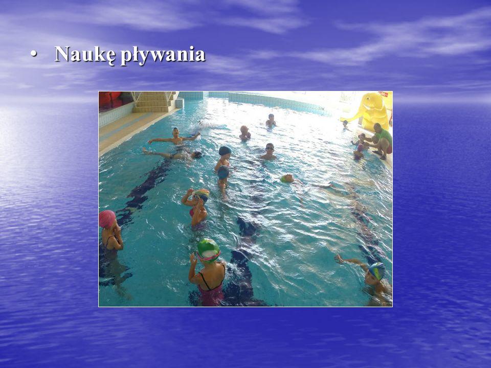 Naukę pływania Naukę pływania