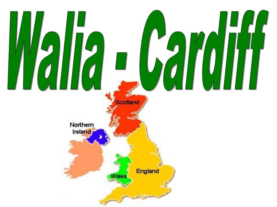 Walia leży nad Morzem Irlandzkim w południowo-zachodniej części wyspy Wielka Brytania.