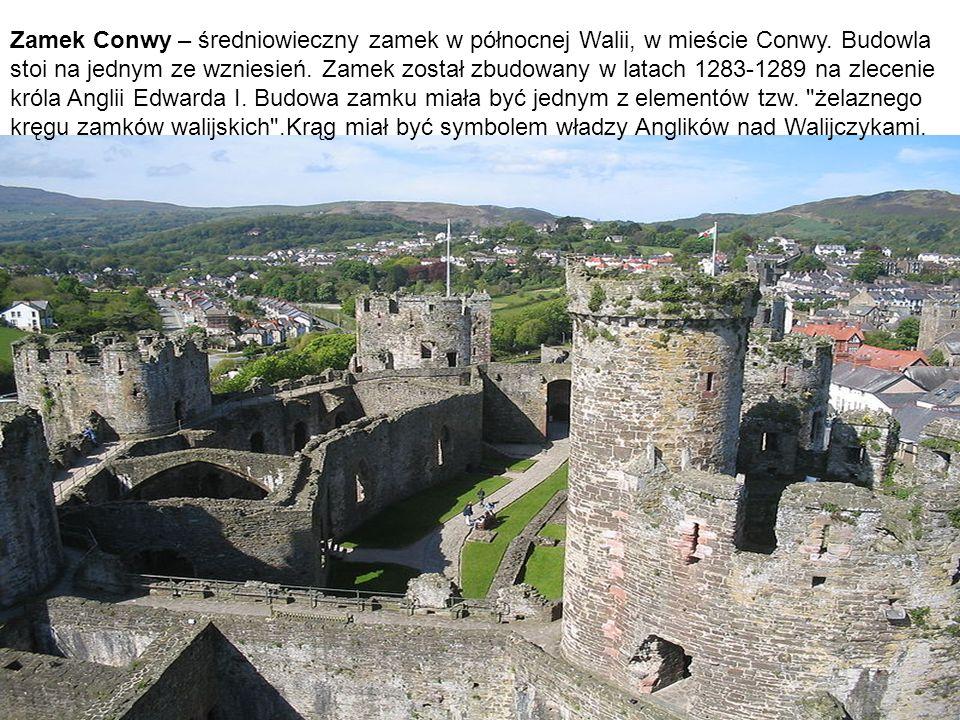 Zamek Conwy – średniowieczny zamek w północnej Walii, w mieście Conwy. Budowla stoi na jednym ze wzniesień. Zamek został zbudowany w latach 1283-1289