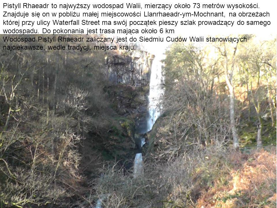 Pistyll Rhaeadr to najwyższy wodospad Walii, mierzący około 73 metrów wysokości. Znajduje się on w pobliżu małej miejscowości Llanrhaeadr-ym-Mochnant,
