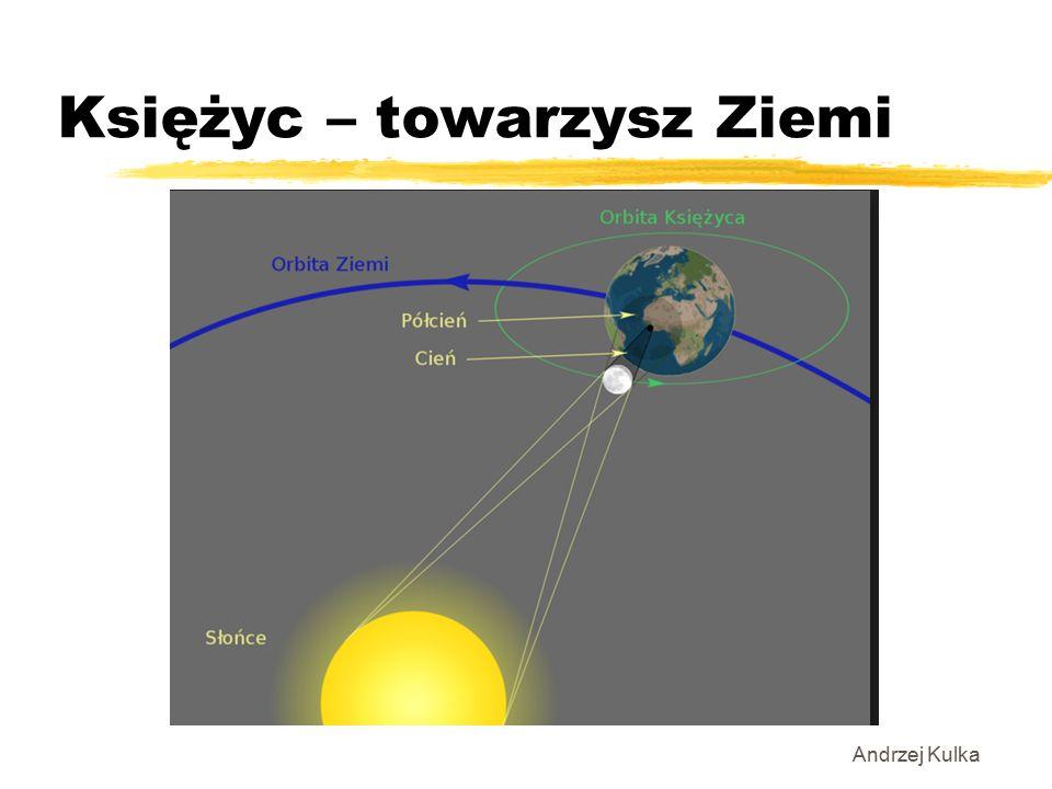 Księżyc – towarzysz Ziemi Andrzej Kulka