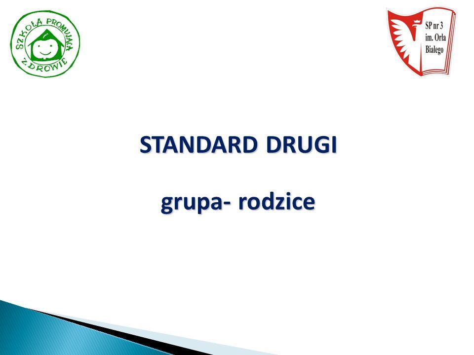 STANDARD DRUGI grupa- rodzice