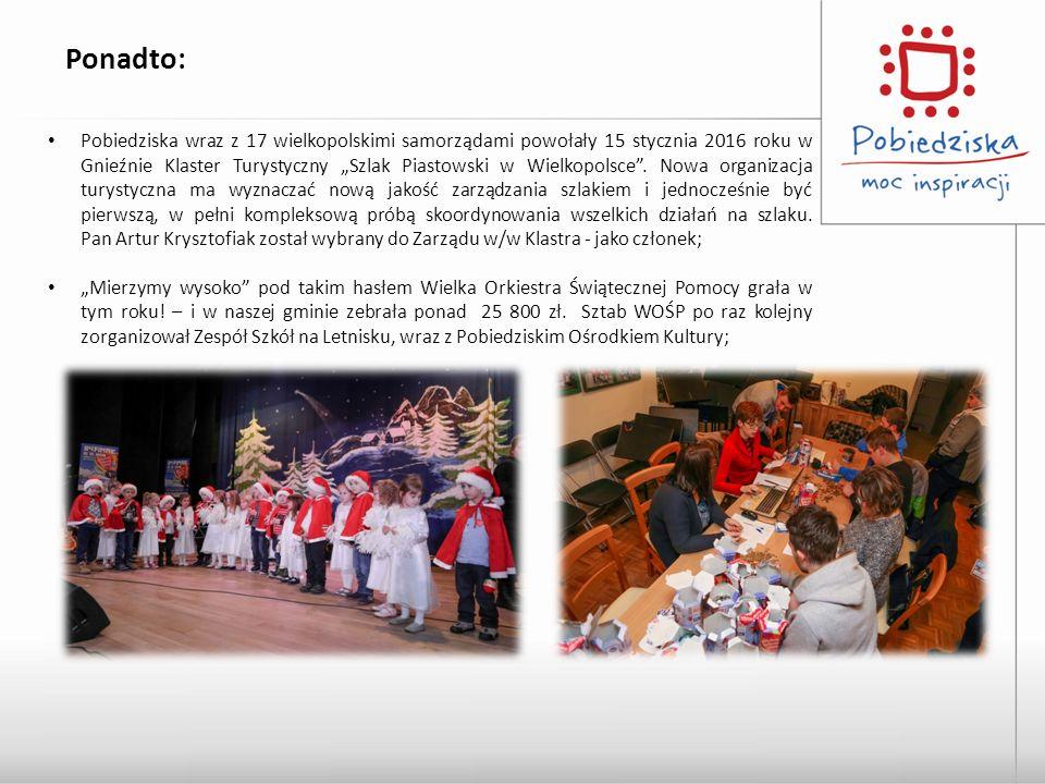 """Pobiedziska wraz z 17 wielkopolskimi samorządami powołały 15 stycznia 2016 roku w Gnieźnie Klaster Turystyczny """"Szlak Piastowski w Wielkopolsce ."""