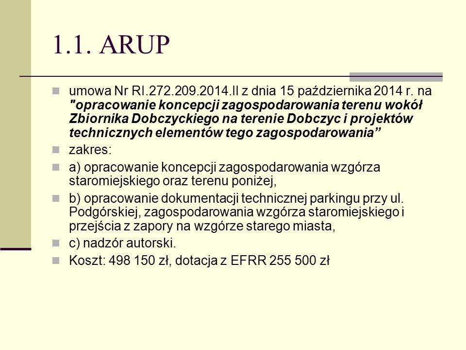 1.1. ARUP umowa Nr RI.272.209.2014.II z dnia 15 października 2014 r.