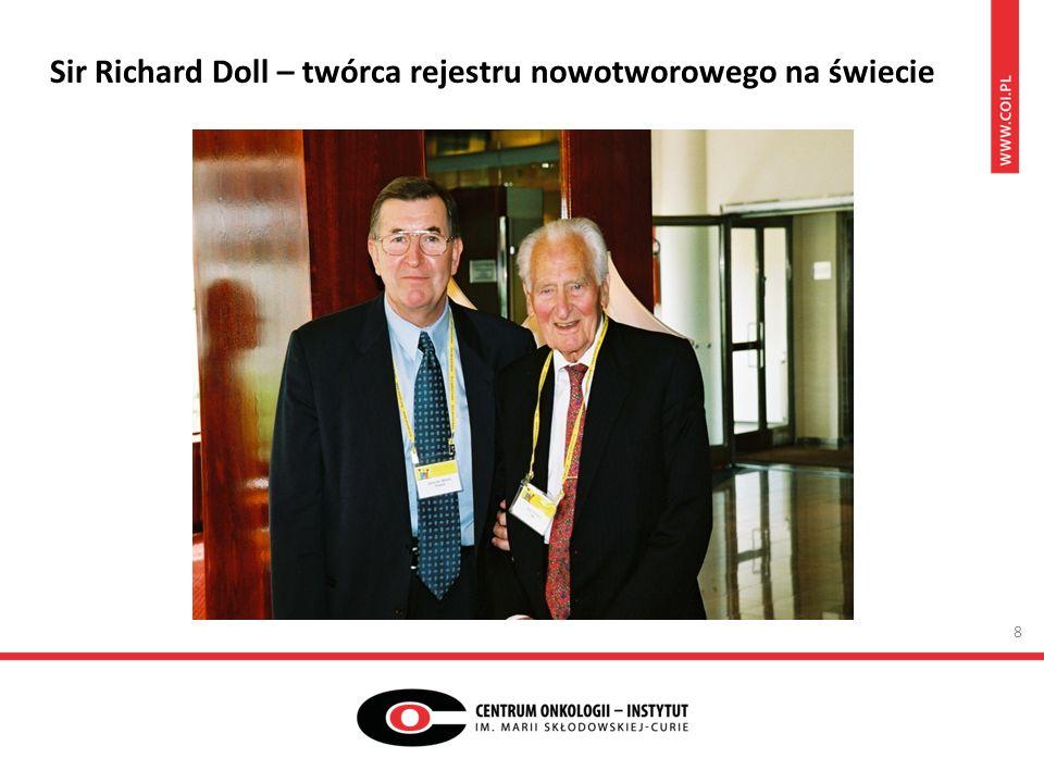 Sir Richard Doll – twórca rejestru nowotworowego na świecie 8