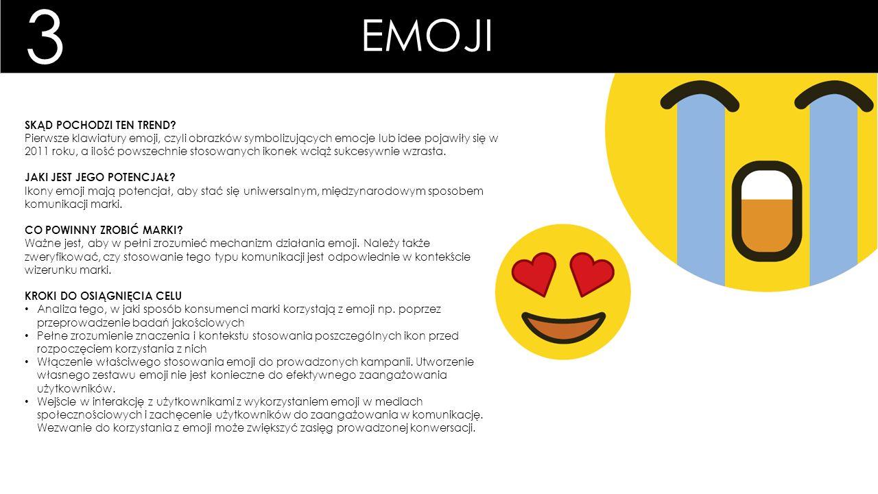 EMOJI SKĄD POCHODZI TEN TREND? Pierwsze klawiatury emoji, czyli obrazków symbolizujących emocje lub idee pojawiły się w 2011 roku, a ilość powszechnie