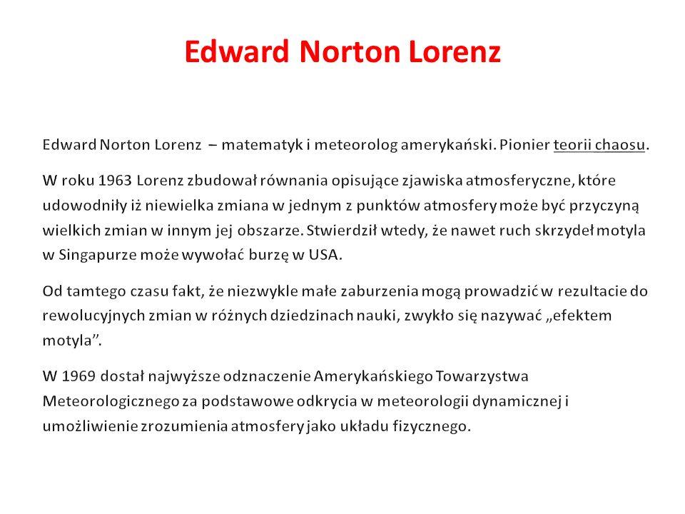 Edward Norton Lorenz