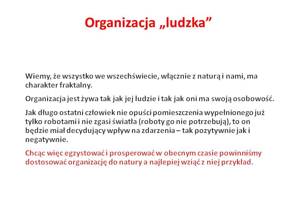 """Organizacja """"ludzka"""""""