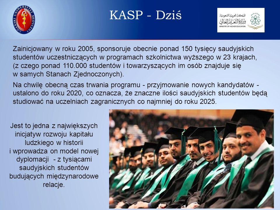 Sukces programu można rozpatrywać w kilku aspektach: 1)Zdolność Ministerstwa Edukacji KSA do szybkiego rozszerzenia programu (liczba uczestników oraz zaangażowanych krajów i uczelni) w stosunku do niewielkiej bazy początkowej z 2005 roku.