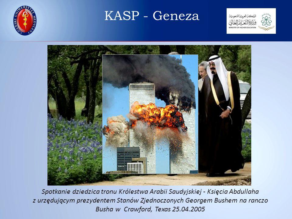 Spotkanie dziedzica tronu Królestwa Arabii Saudyjskiej - Księcia Abdullaha z urzędującym prezydentem Stanów Zjednoczonych Georgem Bushem na ranczo Bus