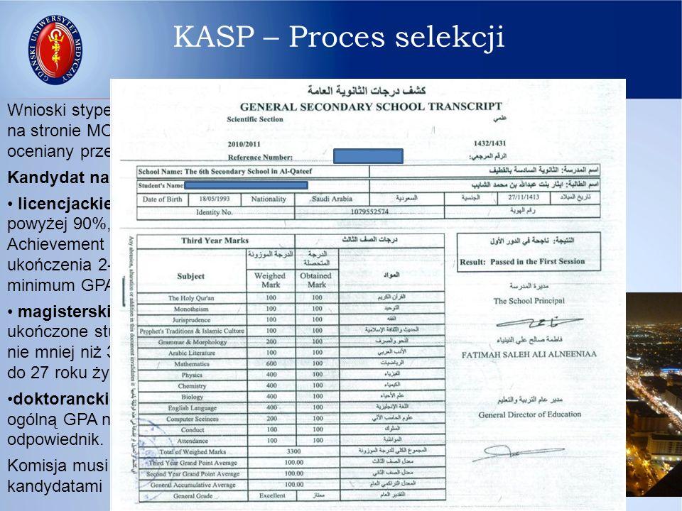 Wszyscy studenci, którzy pobierają stypendium podpisują zgodę aby SACB miało dostęp w ich imieniu do wszelkich informacji akademickich.